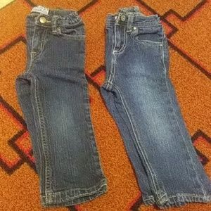 Cherokee & Children's Place jeans